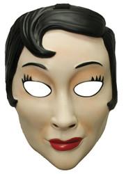 Emo Girl Plastic Mask