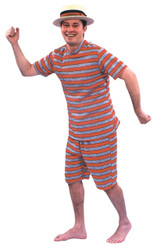 Bathing Suit Mens 20s Med