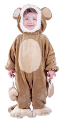 Cuddly Monkey Todlr Costume