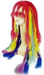 Dreadlock Rainbow Braid