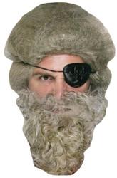 Beard Pirate Grey