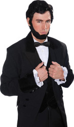 Lincoln Wig Beard Set Adult