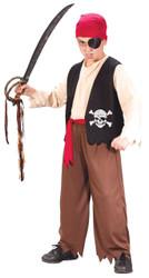 Playful Pirate Child