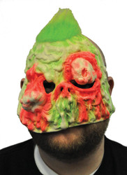 Witch Mask Melted Neon