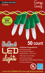 Holiday Lights 50l C3 Pure Wht