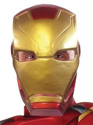 Ca3 Iron Man Adt 1/2 Mask