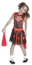 Undead Cheerleader Child Large