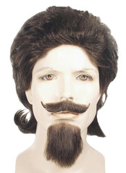 Buffalo Bill Wig Black
