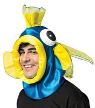 Fish Open Face Blue