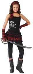 Pirate Skull Rocker Chld 12-14