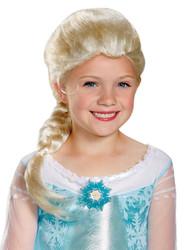 Frozen Elsa Wig Child