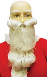 Santa Beard B303 White