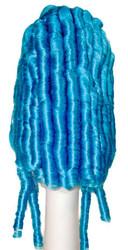 Madame De Pomp Turq Blue