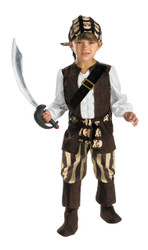 Rogue Pirate Child 4-6