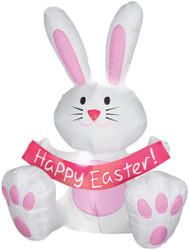 Happy Easter Bunny Airblown 4'