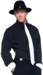 Gangster Shirt Striped Ad Std