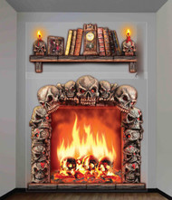 Haunted Wall Dcor 4ft X 5.3ft