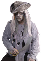 Wig Zombie Pirate