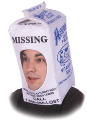 Milk Carton Hat