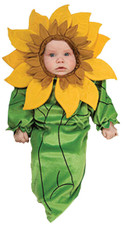 Sunflower Newborn Costume