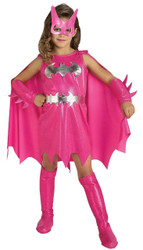 Pink Batgirl Child Costume Sm