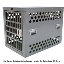 Pro models 3000, 4000 and 4500 feature four crossbars on the door and four spring loaded handles