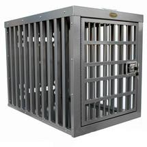 Zinger Heavy Duty Aluminum Dog Crate - Front door model shown