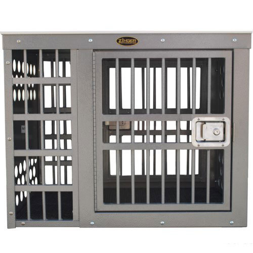 Zinger Professional Sideside Door Aluminum Dog Crates The Paws Mahal