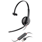 Plantronics Blackwire C310 Over-the-Head Monaural USB Headset (85618-102)