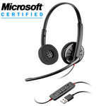 Plantronics Blackwire C320-M Over-the-Head Binaural USB Headset (85619-101)