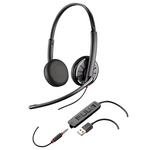 Plantronics Blackwire C325.1 Over-the-Head Binaural USB / 3.5mm Headset (204446-02)