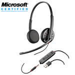 Plantronics Blackwire C325.1-M Over-the-Head Binaural USB / 3.5mm Headset (204446-01)