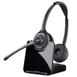 Plantronics CS520 Wireless Over-the-Head Binaural Headset, DECT 6.0 (84692-01)