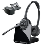 Plantronics CS520 Wireless Headset with HL10 Handset Lifter, DECT 6.0 (84692-11)