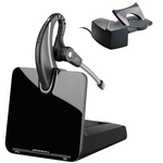 Plantronics CS530 Wireless Over-the-Ear Headset with HL10 Handset Lifter, DECT 6.0 (86305-11)