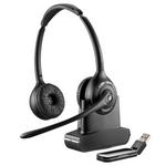 Plantronics Savi W420 Wireless Over-the-Head Binaural USB Headset, DECT 6.0 (84008-03)
