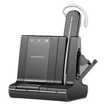 Plantronics Savi W745 Wireless Convertible 3-in-1 Headset with Unlimited Talk Time, DECT 6.0 (86507-01)