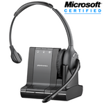 Plantronics Savi W710-M Wireless Over-the-Head Monaural USB Headset, DECT 6.0 (84003-01)
