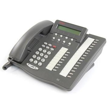 avaya 6424d digital dcp 24 button phone with display at macondo rh macondonetworks com Avaya 6408D Phone Avaya 6408D Headset