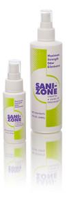 Sani-Zone Fecal Odor Eliminator Spray, 2 ounce (both 2 ounce and 8 ounce shown)
