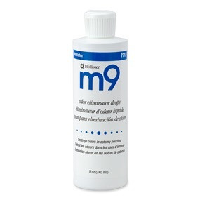 m9 Odor Eliminator Drops, 8 ounces per bottle
