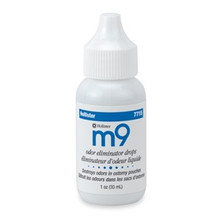 m9 Odor Eliminator Drops, 1 ounce per bottle