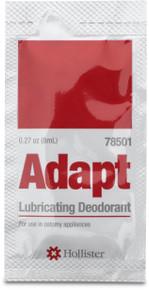 Adapt Lubricating Deodorant Travel Packets,78501