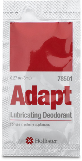 Adapt Lubricating Deodorant Travel Packets,78501