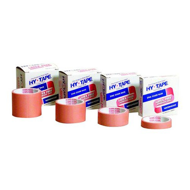 HYTAPE 1-1/2 inch x 5 yards, PINK, WATERPROOF, Latex Free, TAPE