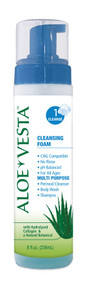 325208 ConvaTec Aloe Vesta® Cleansing Foam 8 ounces