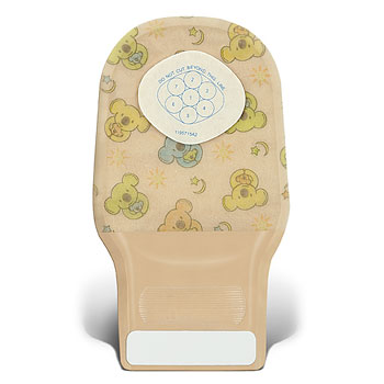 ConvaTec Little Ones One-Piece Extra Small DrainablePouch with InvisiClose Tail Closure System