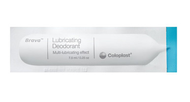Coloplast Brava Lubricating Deodorant Sachet