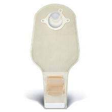 ConvaTec SUR-FIT Natura Transparent Drainable Ostomy Pouch with InvisiCloseTail Closure System and Filter with 1-sided comfort panel. 411360, 411361, 411362