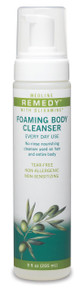 Remedy Olivamine Foaming Body Cleanser 9 ounces, 340 pumps